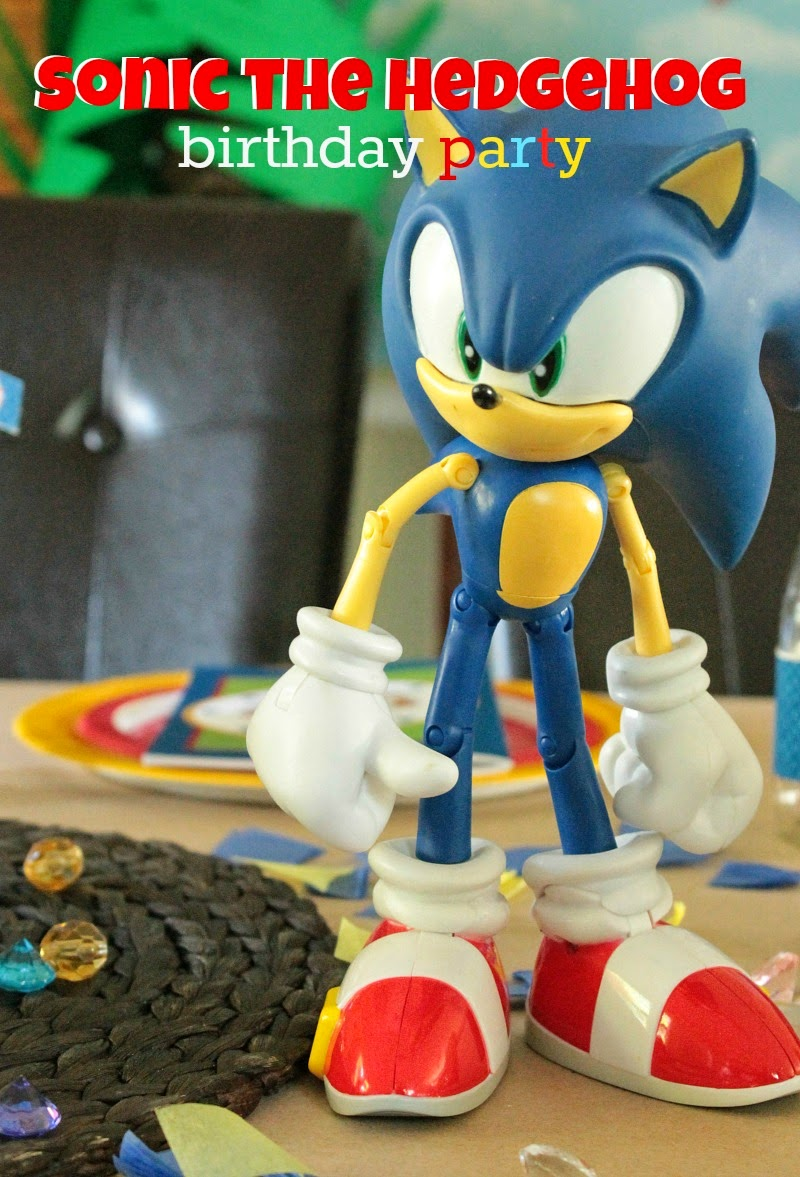 sonic the hedgehog cake topper printable