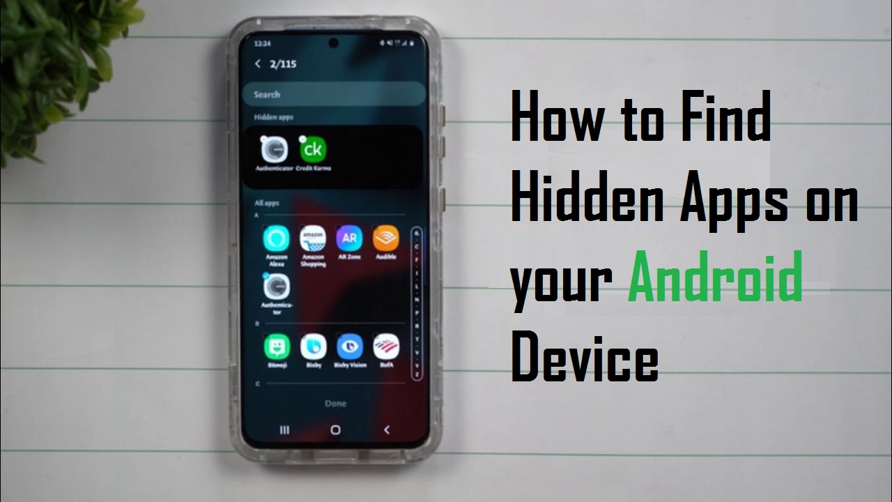 Find Hidden Apps on your Android Device