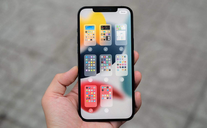 Danh sách iphone được lên iOS 15