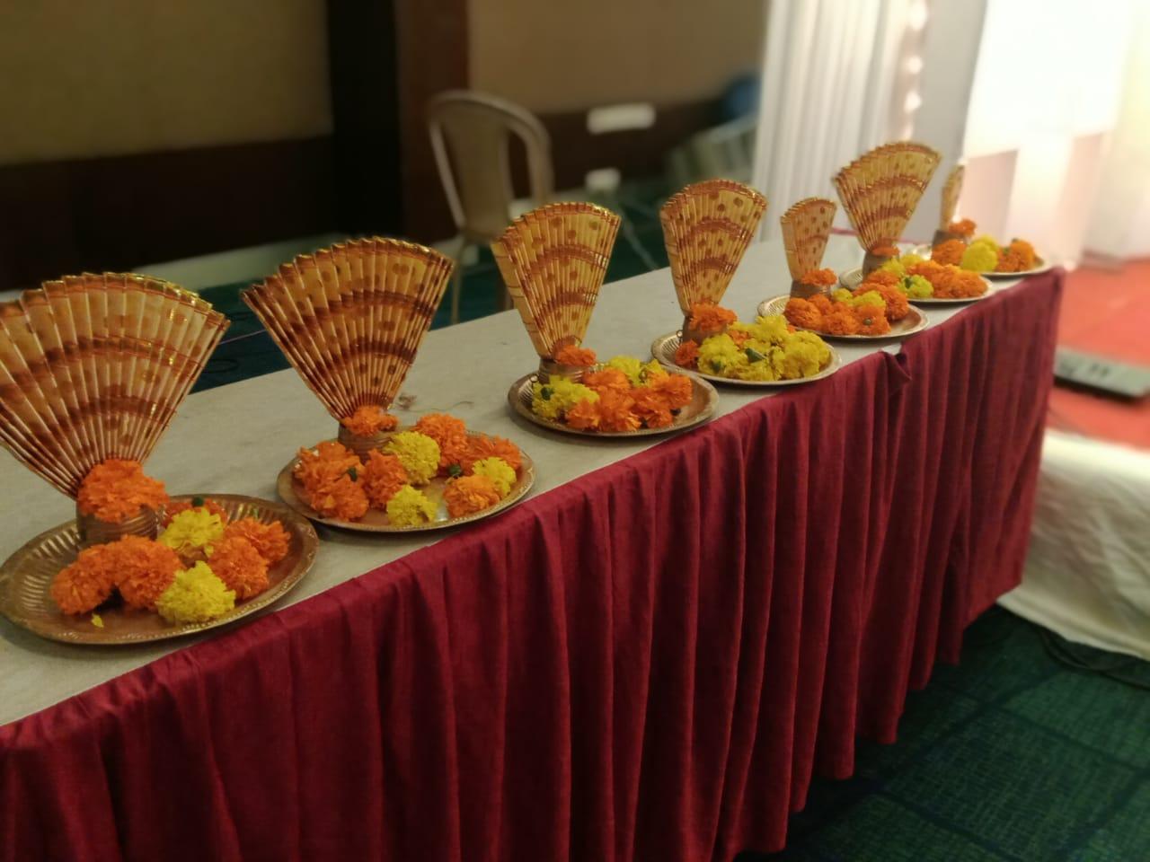 Hindu Wedding Visari Kerala Thalam Decoration