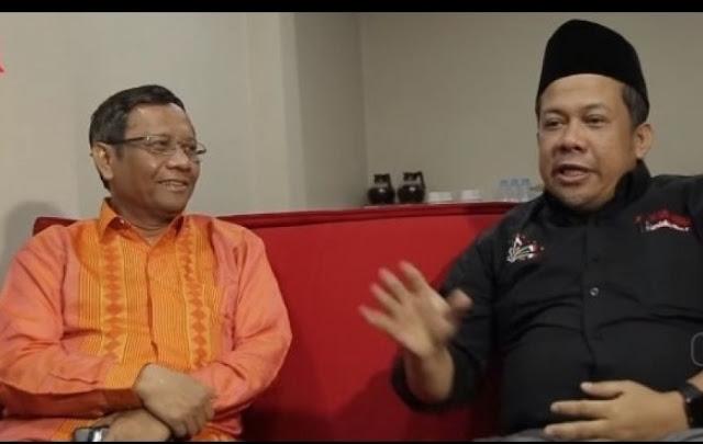 Sebut Mantan Ketua MK Tak Paham Cara Kerja Negara Demokrasi, Fahri Sindir Mahfud MD?