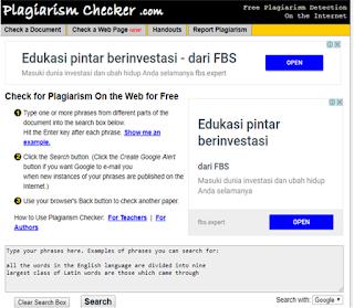 Plagiarismchecker.com, plagiarisme