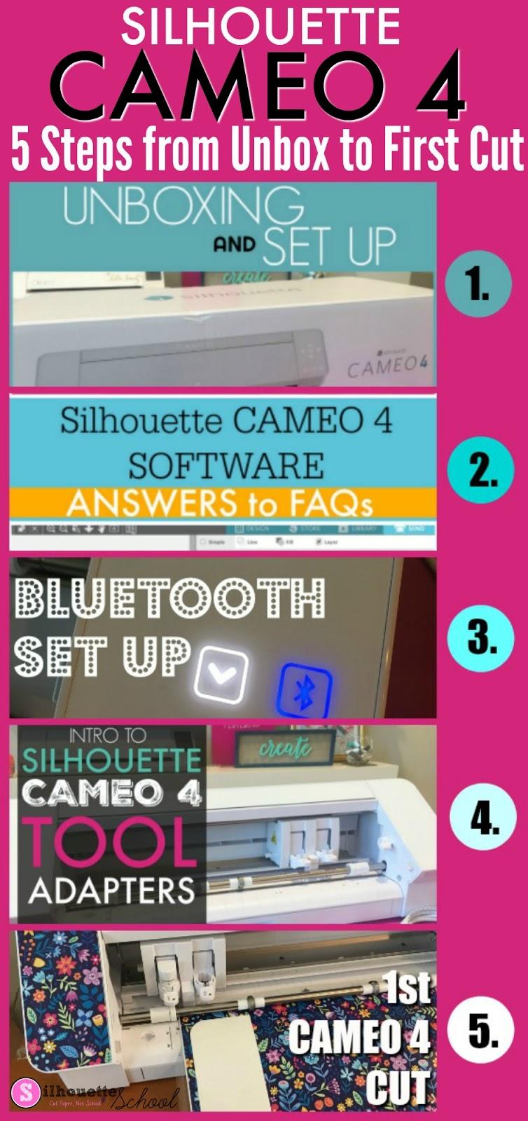 Silhouette 101, Silhouette America Blog, cameo 4, cameo 4 beginners, cameo 4 tutorials