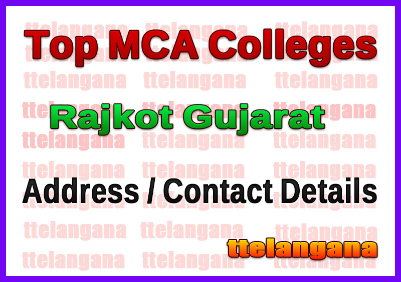 Top MCA Colleges in Rajkot Gujarat