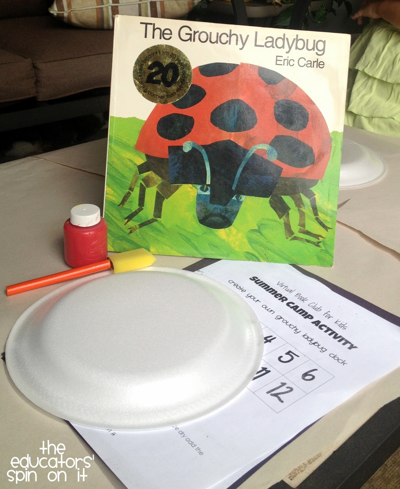 The Educators Spin On It The Grouchy Ladybug Activities