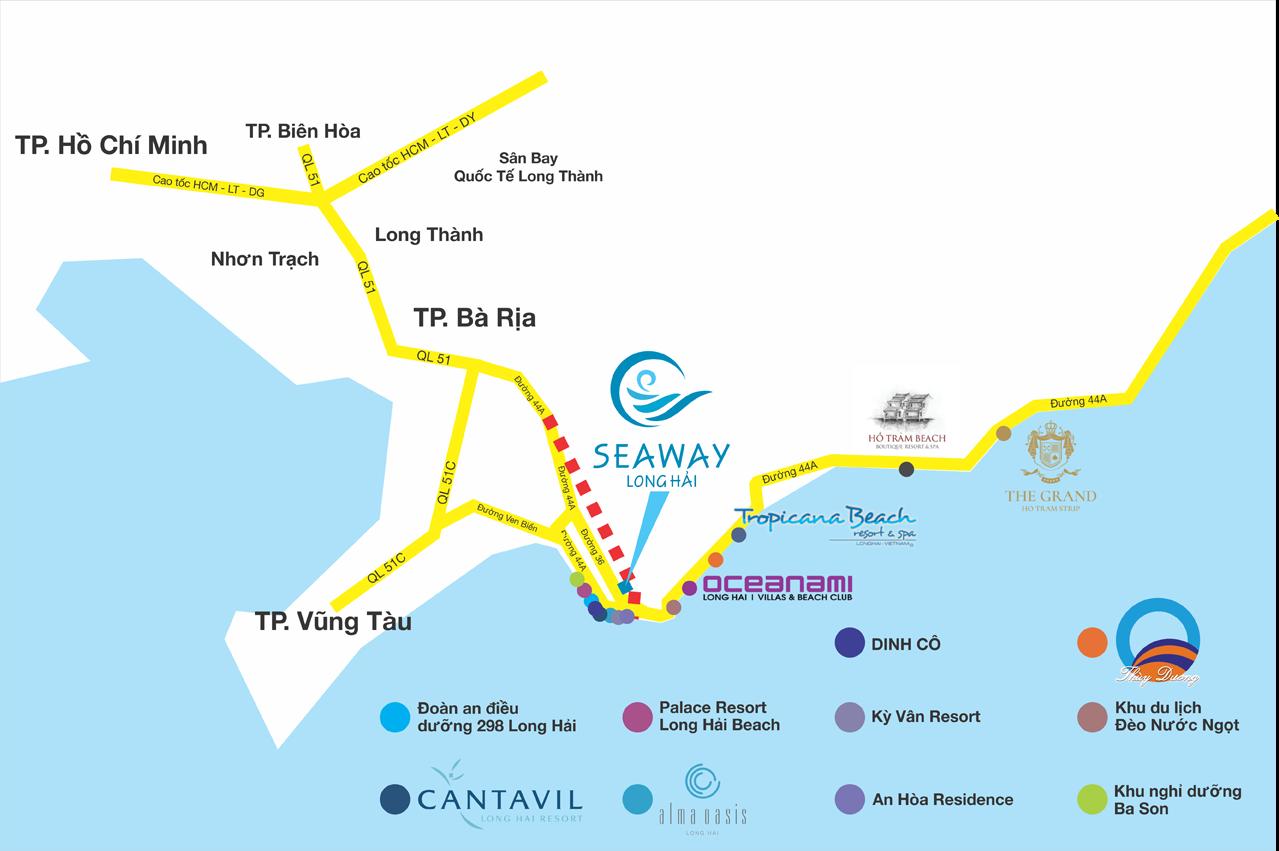 Seaway Long Hải Phố Vàng Thương Mại trên cung đường Resort - Ảnh 2