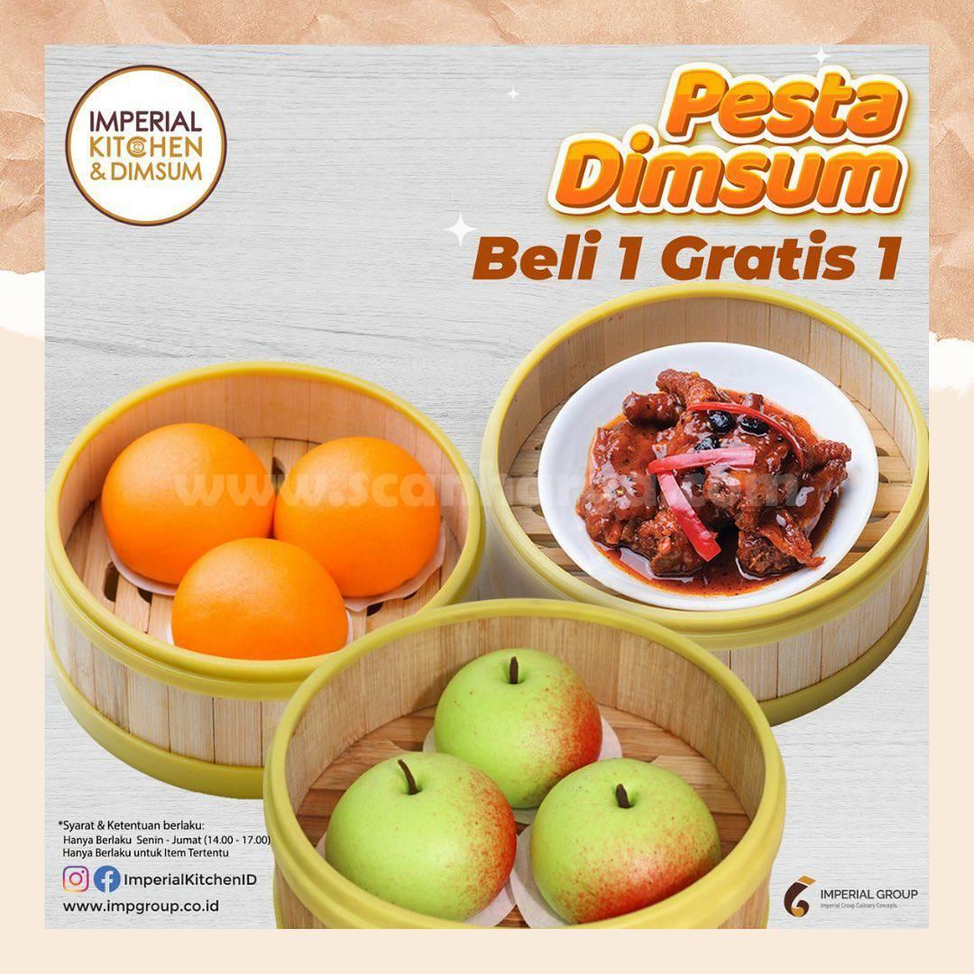 Imperial Kitchen Dimsum Promo Pesta Dimsum Beli 1 Gratis 1