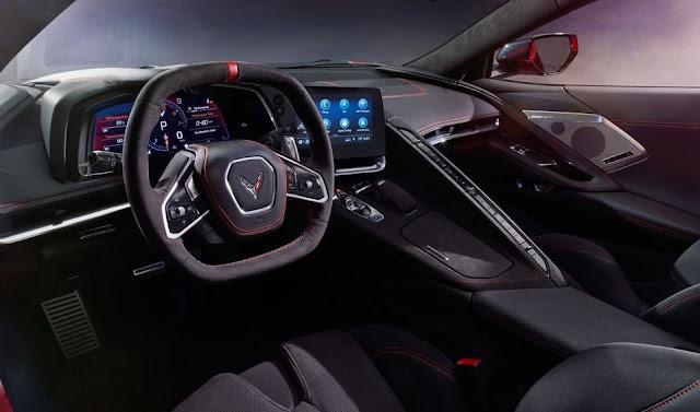 2020 Chevrolet Corvette C8 Console View