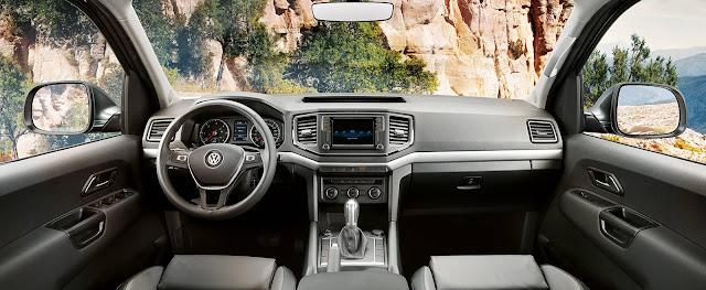 Volkswagen Amarok V6 2018 - interior - painel