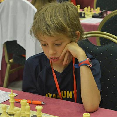 El ajedrecista Sub-10 ARAN GASULL i BATISTE