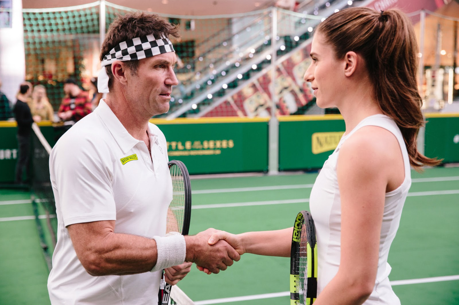 Battle Of The Sexes Game Tennis