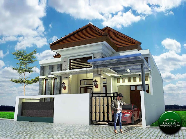 Rumah Baru di jalan Damai dekat UGM
