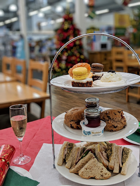 Christmas Afternoon Tea Wyevale Telford