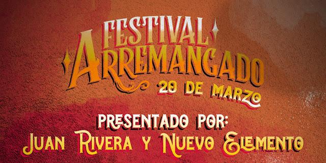 Festival Arremangado un evento online con los grandes íconos y la nueva sangre del regional