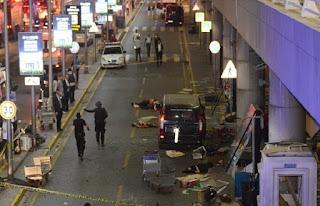 Pengebom Bunuh Diri Serang Turki