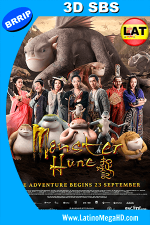 Monster Hunt (2015) Latino Full 3D SBS 1080P ()