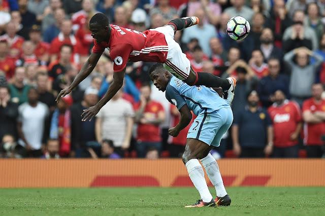 Derby animé entre Manchester United et Manchester City