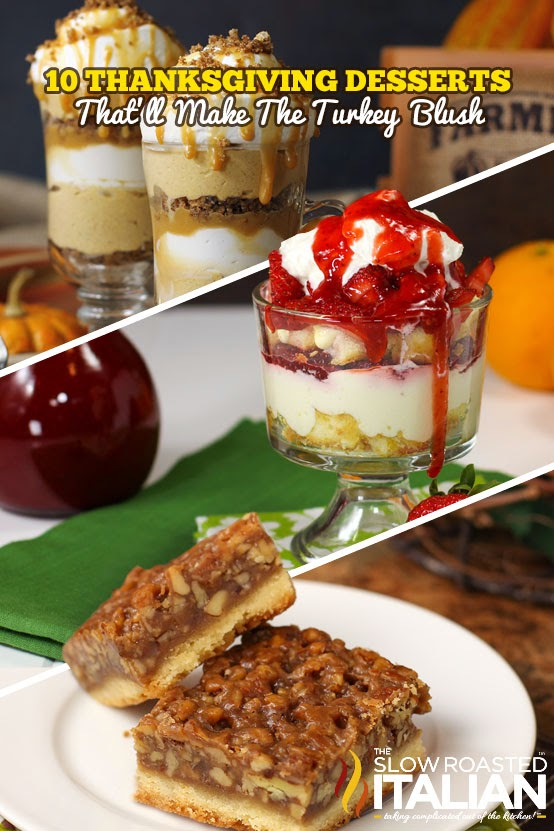 Thanksgiving is almost here and you are almost ready. You've got the decor, the table settings, and the main course. The only thing that's left is an assortment of delicious Thanksgiving desserts.