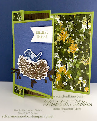 Check out my Triple Accordion Fun Fold Card using the Birds & Branches & Beauty of Friendship Stamp Sets Click here to learn more.