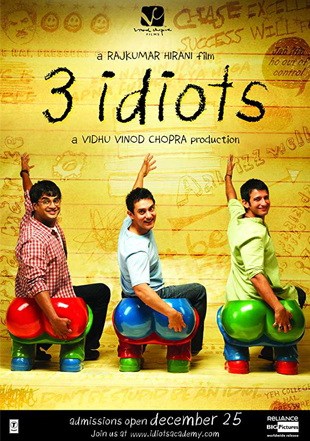 3 Idiots 2009 Full Hindi Movie Download BRRip 720p