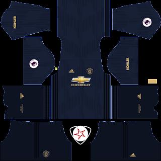 2018-2019 Manchester United DLS Kits