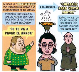 Mi puto cuñado, ranciofacts 2 de Pedro Vera, caramba comics