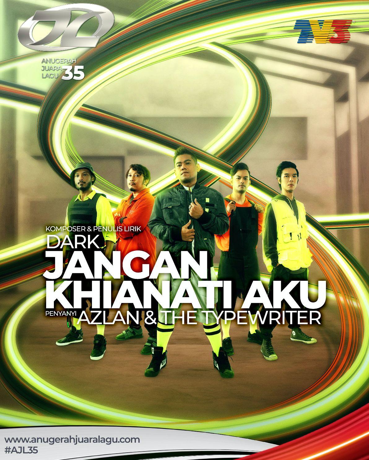 Jangan Khianati Aku - Azlan & The Typewriter