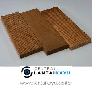 harga lantai kayu outdoor decking Bengkirai