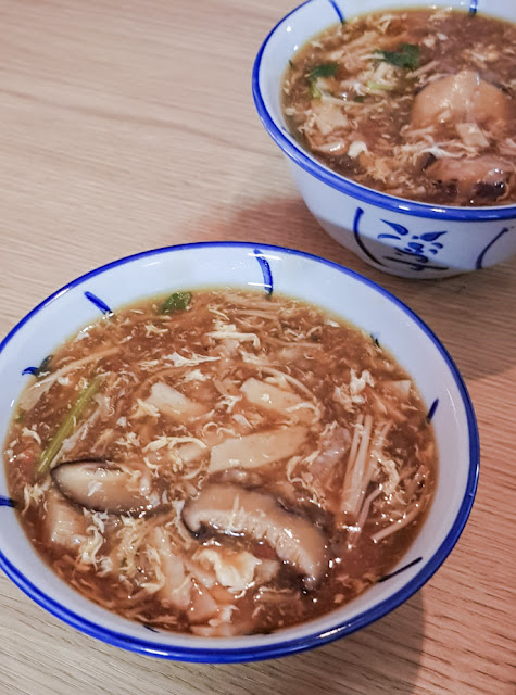Recipe: Imitation Shark Fin Soup