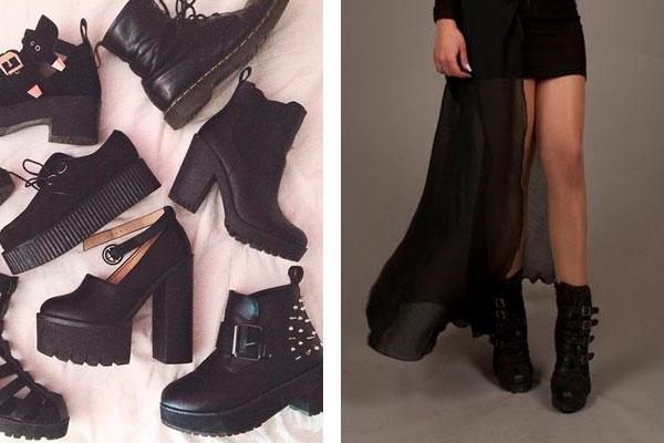 whitch style обувь