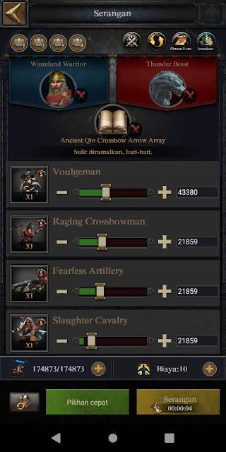 Pasukan Clash of Kings