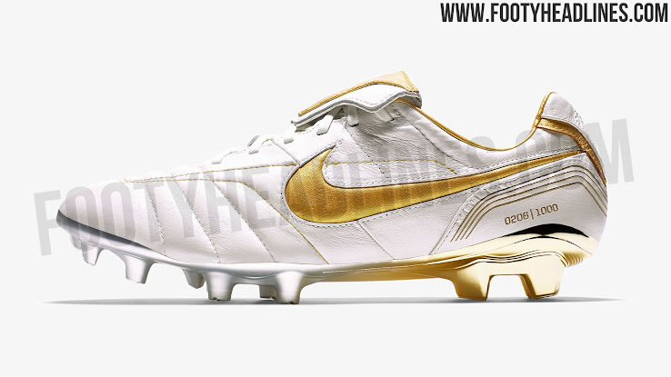 size 40 ffade f80ba White / Gold Nike Legend R10 Ronaldinho 2018 Boots Released ...