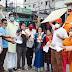 भारतीय जनता पार्टी नगर अध्यक्ष सोना धारी झा ने मोटेशन बिल वापस ले , इस विरोध में टावर चौक पर बिल जलाकर किया विरोध