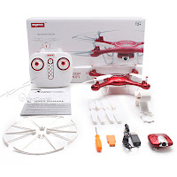 Syma X5UW Quadcopter Package Contents