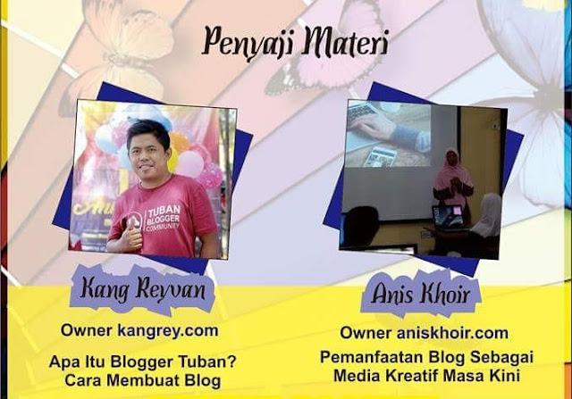 Sekolah blogger tuban jawa timur