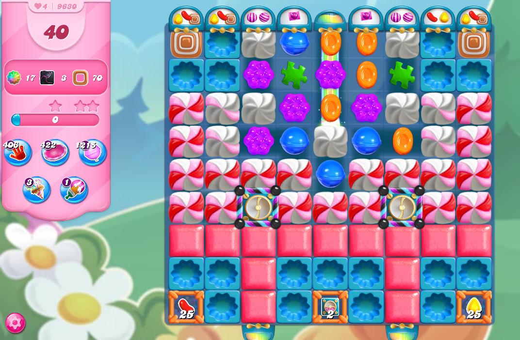 Candy Crush Saga level 9630