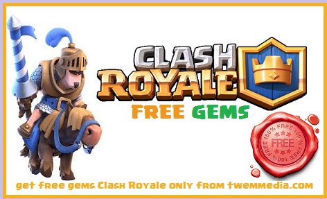 Cara Mendapatkan Gems Clash Royale Gratis Terbaru 100% Work