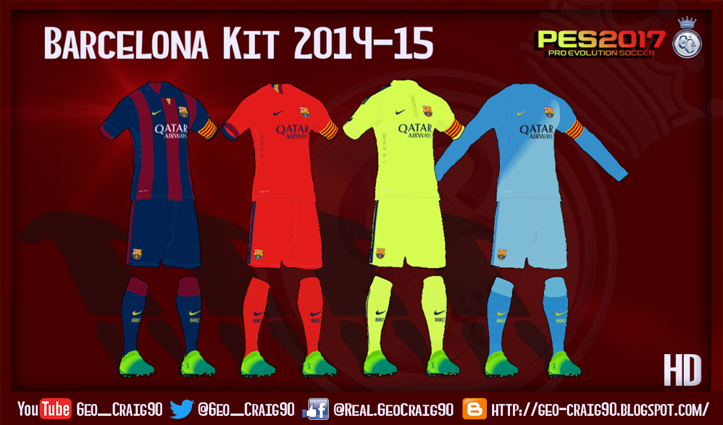 d4594178a Yükle (1418x834)PES 2017 Barcelona Kit Season 2014-15 by Geo Craig90 - PES  PatchDownload PES2017 Barcelona Kits Season 14-15 by GeoCraig90.