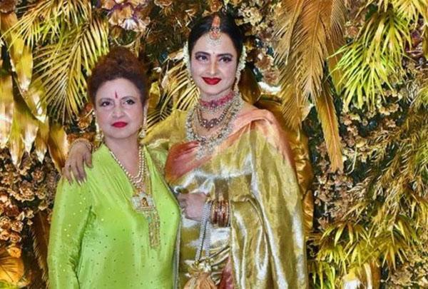 rekha sister radha