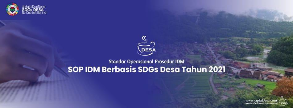 SOP IDM Berbasis SDGs Desa Tahun 2021