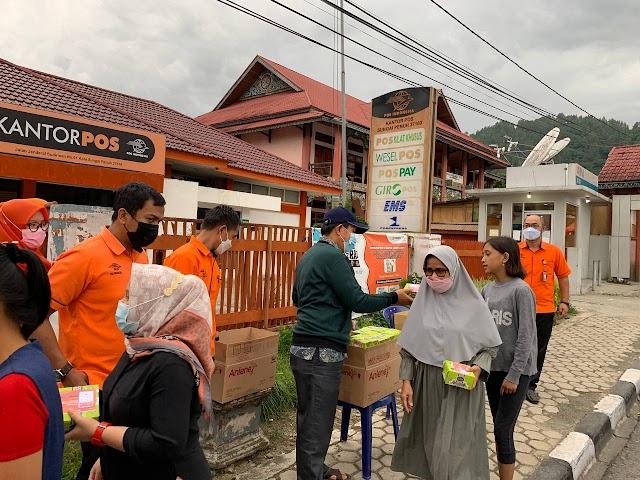 POSweet Ramadhan, Kebaikan Pos Indonesia Berbagi Takjil Gratis