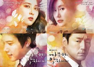 """""""Sinopsis, Cast Drama korea Kind Words"""""""