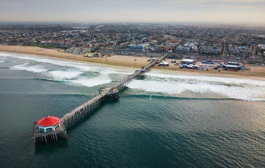 Huntington pier us open