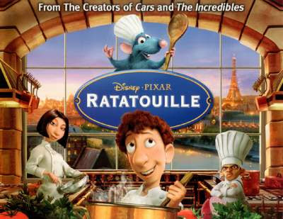 Ratatouille (2007) Full Movies Hindi + Eng + Telugu + Tamil Download 480p