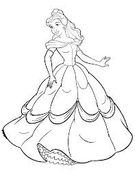 Disney Movie Princesses: Princess Coloring Pages