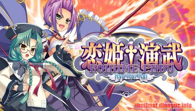 Download Game Koihime Enbu RyoRaiRai Full Crack