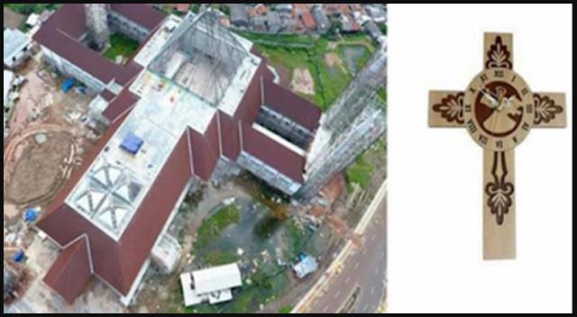 Terkuak, Ternyata Masjid Raya Jakarta yang Dibangun Ahok Bentuknya Mirip Salib