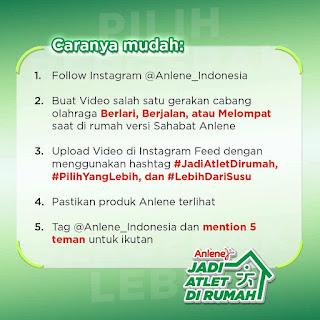 anlene virtual competition