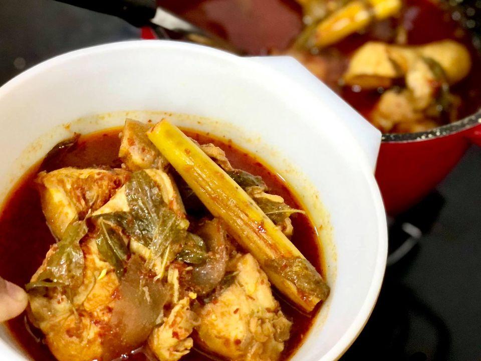 Masak Asam Pedas Ayam Untuk Anak-Anak