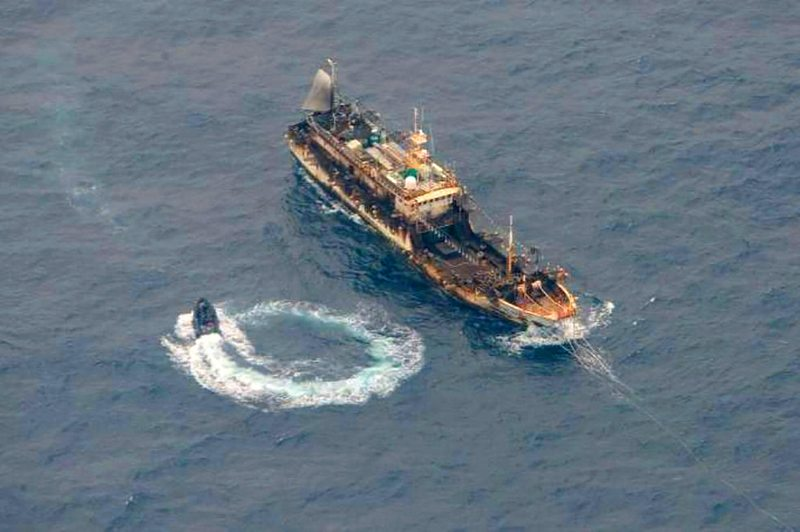 Flota china demorará un mes en cruzar el Estrecho de Magallanes